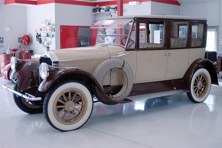 1922 Pierce-Arrow 33 4-person touring  Built for the Hershey family (check out the colours) and used in President Hoovers daughter's wedding procession.