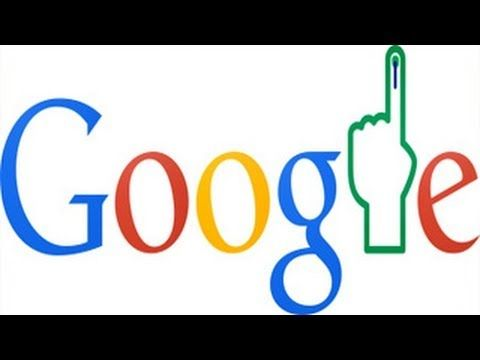 India Election Results 2014 Google Doodle