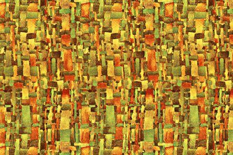 after_dream yellow fabric by chicca_besso on Spoonflower - custom fabric