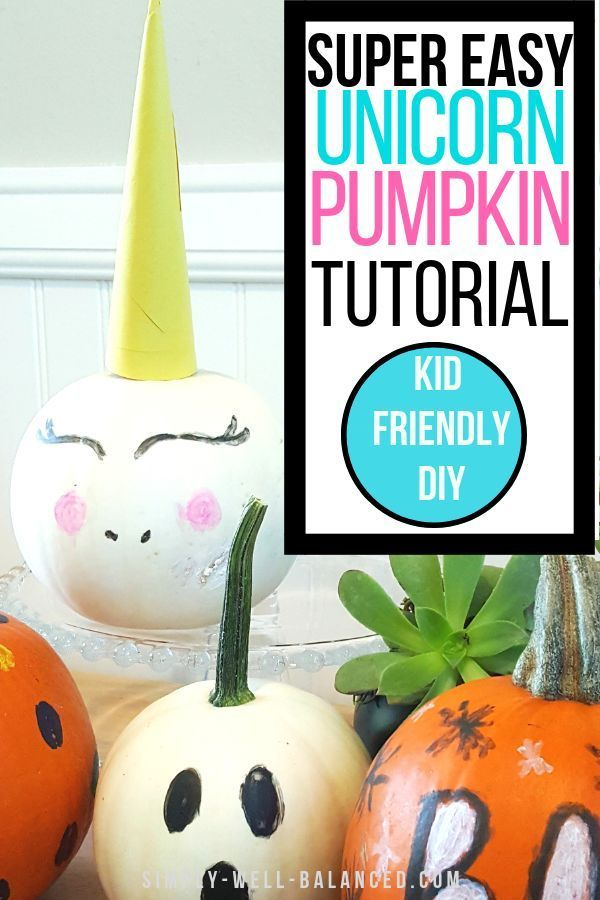 4 Easy And Mess Free No Carve Pumpkin Decorating Ideas No Carve Pumpkin Decorating Pumpkin Decorating Kid Friendly Diy