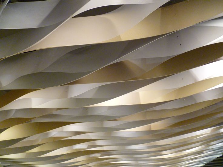 foyer ceiling cover in Place des Arts