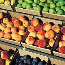 Okanagan orchards and farms
