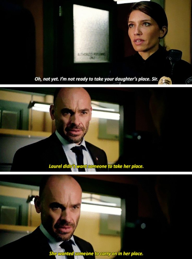 Oliver tells me that you're the new Black Canary. #Arrow #Season5 #5x14