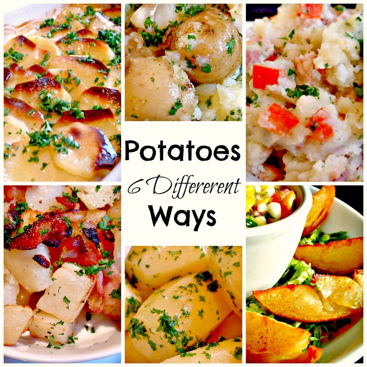 Learn How To Transform Boring Potatoes 6 Different Ways