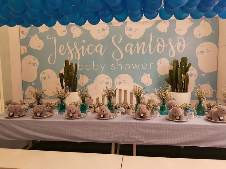 Long Table  Baby Shower