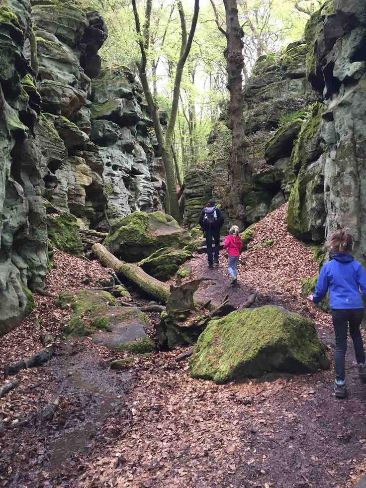 Met een audiotour door de Teufelsschlucht wandelen in de Eifel.