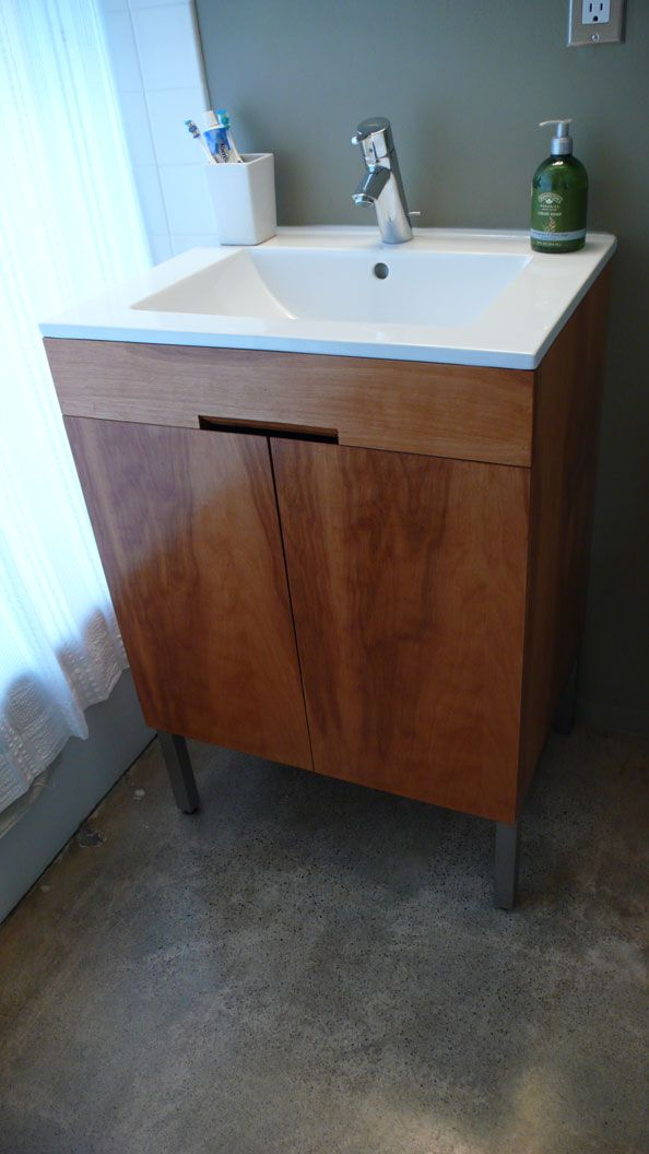 Looking To Revamp Your Bathroom Two Diy Vanities Vanities Plywood Cabinets And Minwax