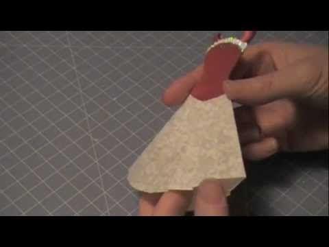 Kell Belle Studio: Paper Couture XVIII: Red Velvet Bustier
