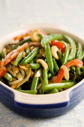 Fancy Green Beans - another Easter side dish