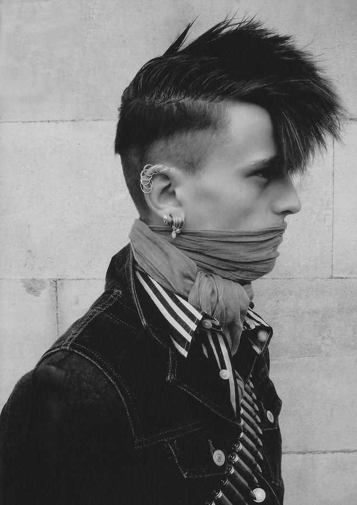 89 Best Mohawks Images On Pinterest Punk Fashion
