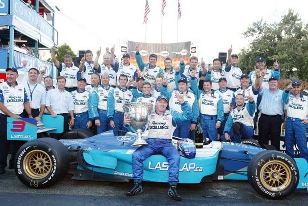 This was a good day :) Paul Tracy with Player's wins Championship 2003 Surfer's Paradise ChampCar
