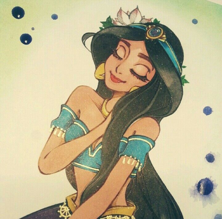 Princess Jasmine Artwork