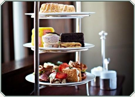 London's Delaunay  Viennese Afternoon Tea offers assorted savouries, carrot Gugelhupf or fruit scones with homemade jam and whipped cream, a sel...
