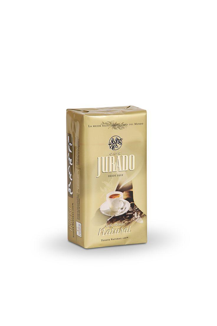 Café Molido Tueste Natural, para disfrutar del molido correcto y  obtener todo su cuerpo, sabor color y textura del café.