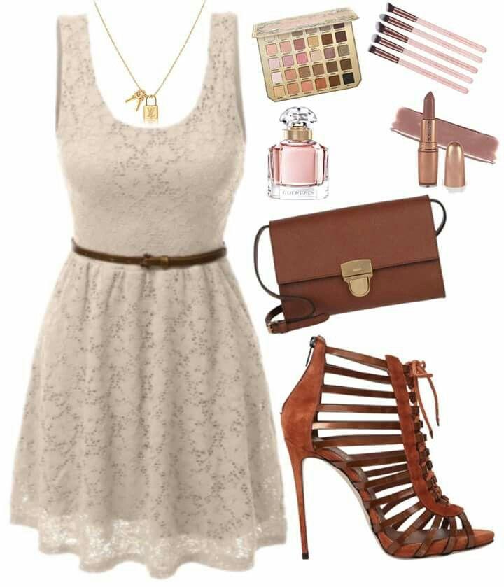 Dress but wider belt