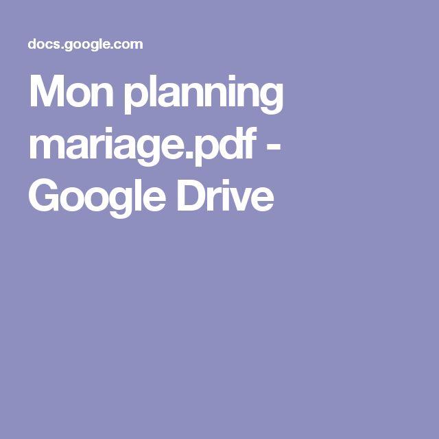 Mon planning mariage.pdf - GoogleDrive