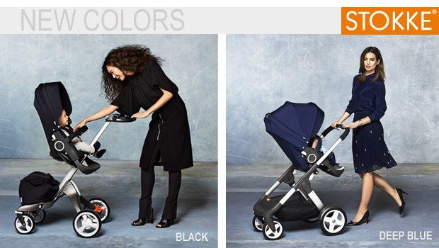 Deep Blue e Black. Due nuovi colori per i passeggini Stokke e gli accessori coordinati! http://www.cercapasseggini.it/notizie-passeggini/nuovi-colori-stokke-transport-collection-574.asp #stokkelovers #passeggini2014 #colori #tendenze2014
