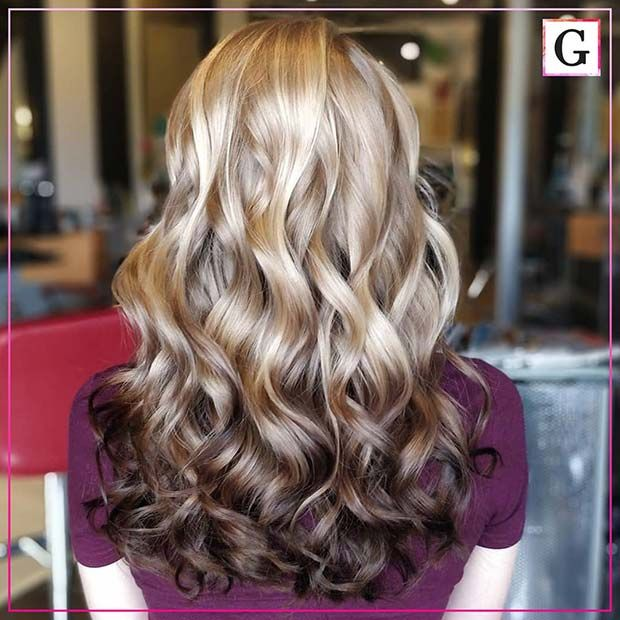 23 Reverse Balayage Hair Color Ideas