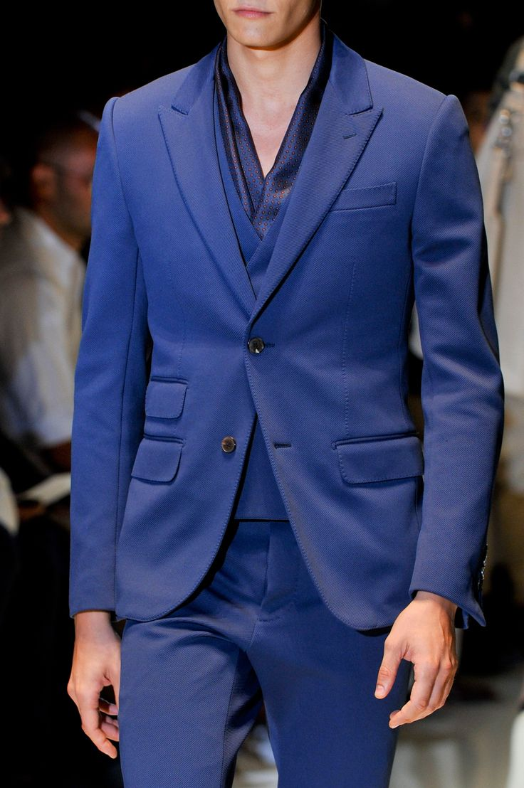 Blue Gucci Party wear Suit