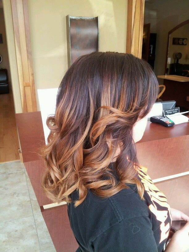 Ombre hair color on short hair | Short Hairstyles | Pinterest