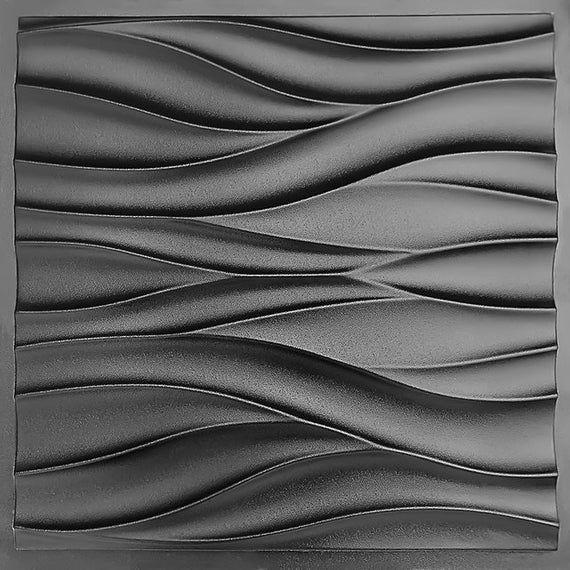 Wave Abs Plastique Moule 3d Panneau Pour La Fabrication De Etsy In 2020 3d Panels Wall Paneling Diy Wall Panel Molding