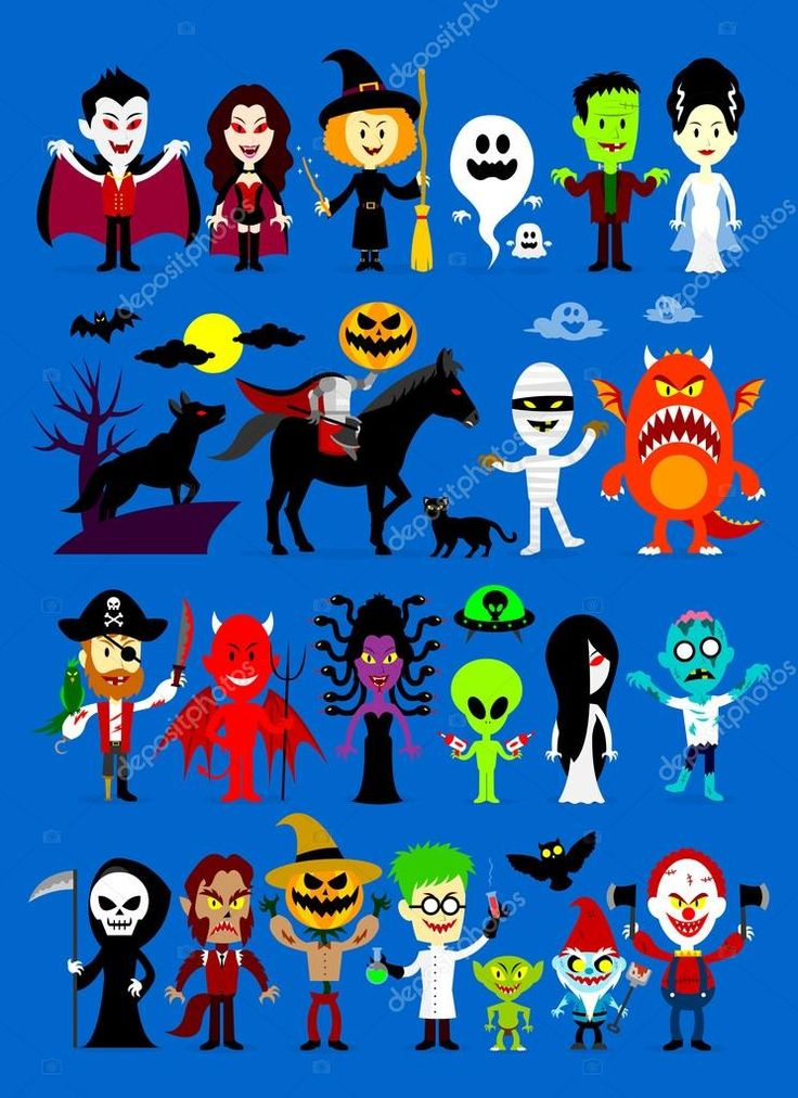 depositphotos_80683386-stock-illustration-monsters-mash-halloween-characters.jpg (744×1023)