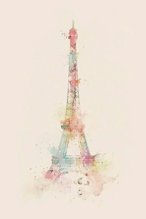 Eiffel tower in colours!