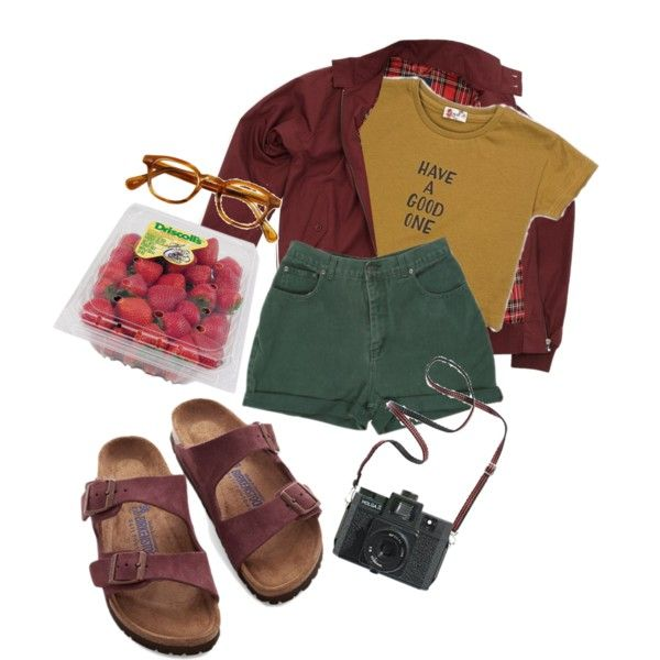 A fashion look from October 2015 featuring Birkenstock sandals. Browse and shop related looks.