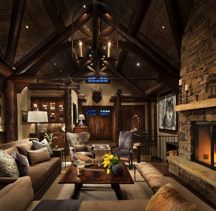 Rustic Pine Toung And Groove Interior Design: 537 Best Images About Mountain Retreats On Pinterest