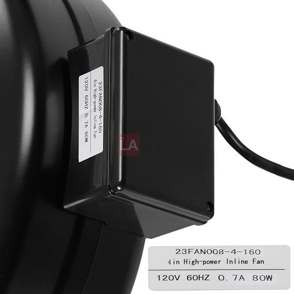 4 Inch Inline Vent Duct Exhaust Fan Blower Carbon Filter Activated Carbon Air Filter Carbon Air Filter