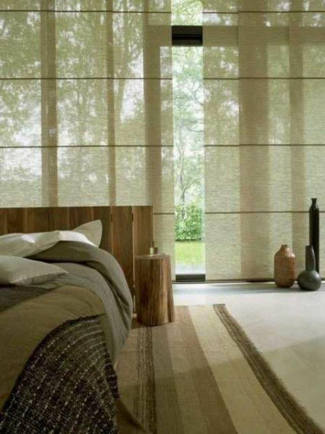 Décor asiatique bambou et bois rustique