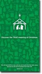 Way to Go Hobby Lobby! : )  True Meaning of Christmas.....you may go here to email them your appreciation of their recognition of Christian holidays.  You can also read/print former holiday message inserts from years past.