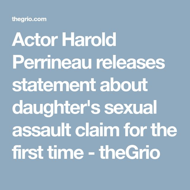 Actor Harold Perrineau releases statement about daughter's sexual assault claim for the first time - theGrio