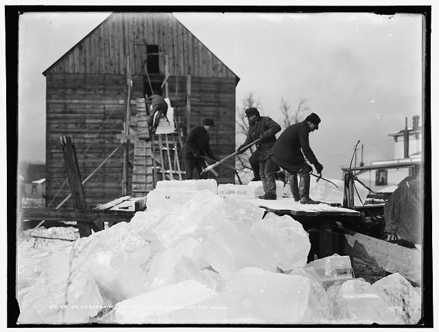 Ice cutters worked in harsh weather conditions to bring you ice blocks for your cellar and ice box. & 79 best Frederick Tudor images on Pinterest | Tudor Harvest and ... Aboutintivar.Com