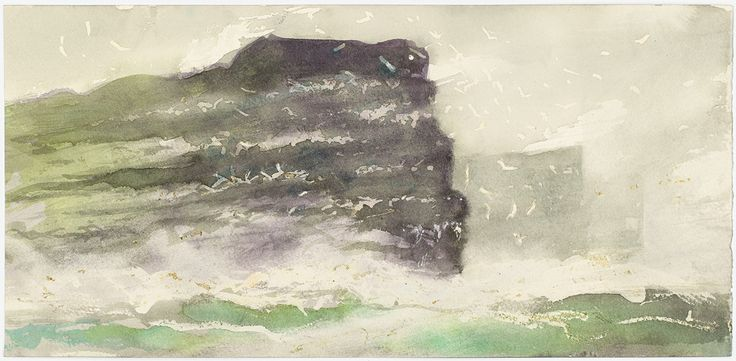 Norman Ackroyd sketches from the Shetland Islands