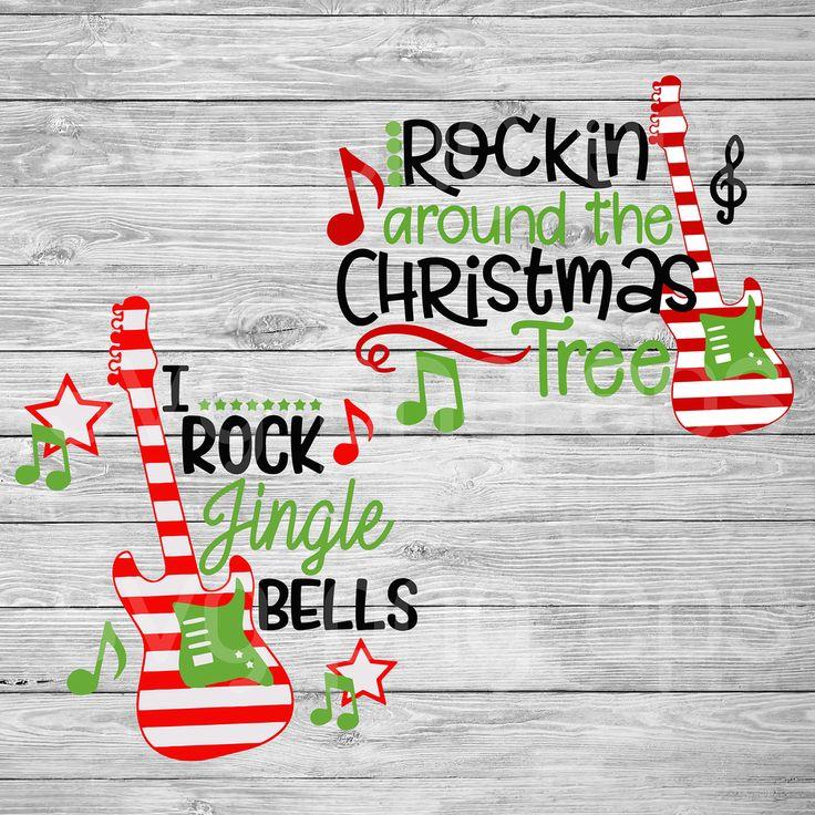 Rockin around the christmas tree svg, christmas svg bundle