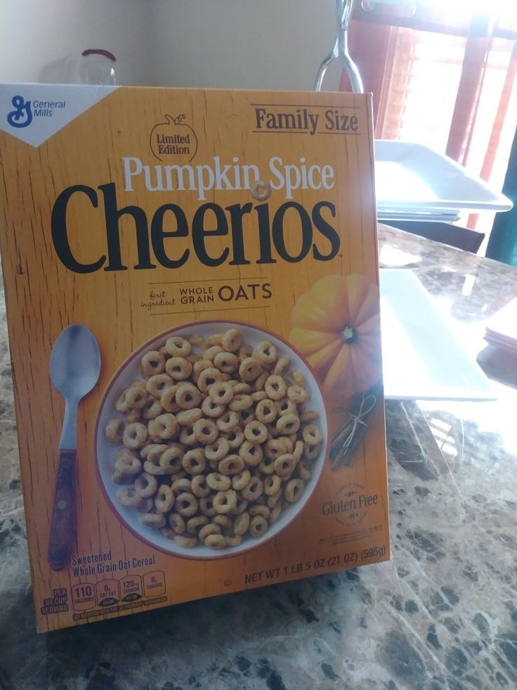 LOL! DIY BOWL OF PUMPKIN SPICE CHEERIOS!!! AUTUMN START KICK!!! CANT WAIT TO TRY THESE WITH SOME ALMOND COCONUT MILK