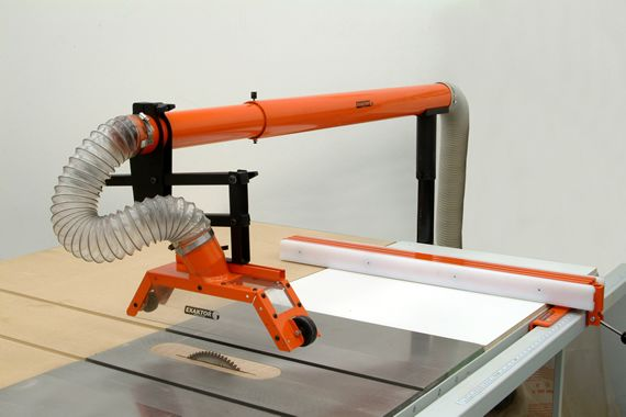 Table Saw <b>Dust Collection</b> Guard