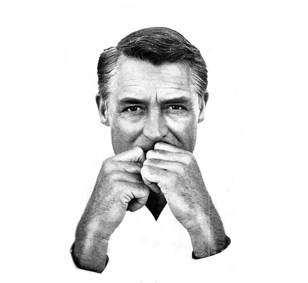 Richard Avedon - Portrait of Cary Grant