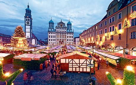 Christkindl Markt in Augsburg, Germany. Went to this particular one four consecutive years in the 1980s. Just wonderful.  Google Image Result for http://i.telegraph.co.uk/multimedia/archive/01521/christmas-markets-_1521551c.jpg