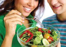 gesunde Mahlzeit zu jeder Tageszeit