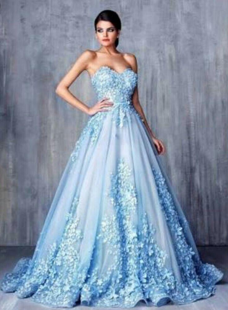 Lange kleider fur hochzeitsgaste blau