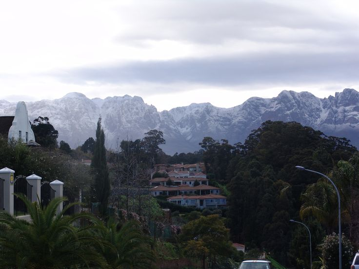 Seldom seen but when its there it must be captured. Somerset West, Cape Town, South Africa.