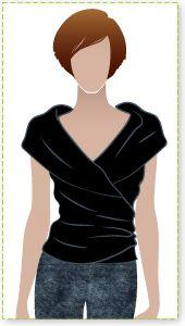 Style Arc's Simply Sally Top