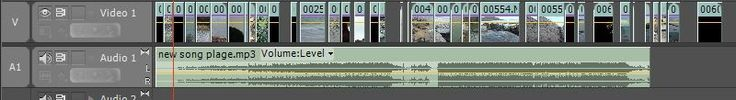 This screenshot shows how I used Adobe Premiere Pro to edit my sequence. I used this to a large extent to edit my music video. I found it easy to import and sort footage and music files. This was easy to use and probably the most used program out of my whole production. Here you can see how I have numerous clips throughout the duration of the song, due to the concept of my music video and the green screen effects.