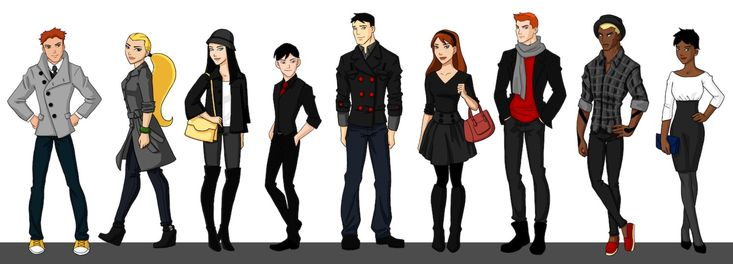 Young Justice - Season 1 Team by *bechedor79 on deviantART