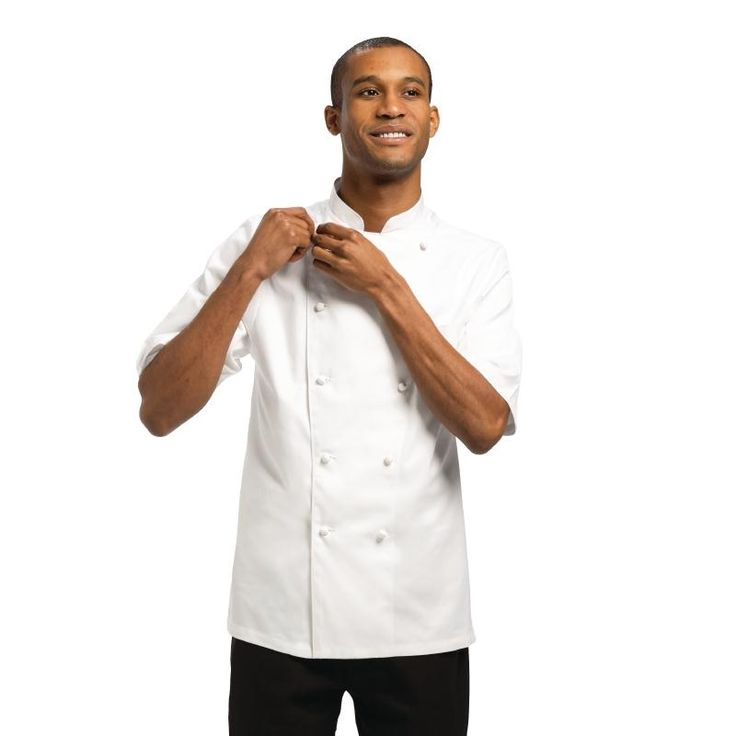 Chef Works Unisex Capri Executive Chefs Jacket White 52 - A915-52