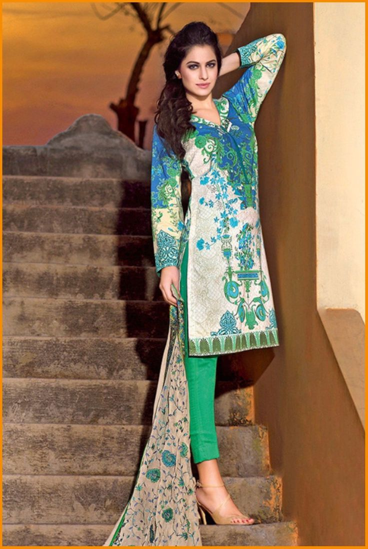 Warda spring summer collection 2016 vol 1 with prices beststylo com - Gul Ahmad Spring Summer Lawn Collection 2016 Vol 1 With Price Gulahmed Dresses