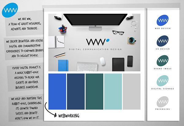 WebWorking on Behance
