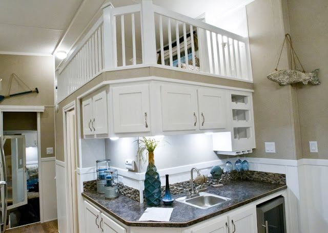 Space Saving Kitchen Tiny Houses Are Big At 2015 Cottage And Lakefront Living Show